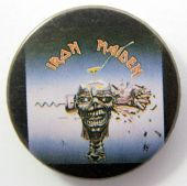 Iron Maiden - 'Can I Play With Madness' Vintage 32mm Badge